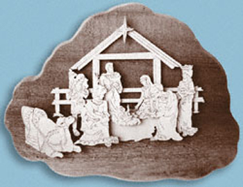 Everyone loves Nativity Scenes around the holidays and this project is