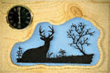 Antler plaque patterns