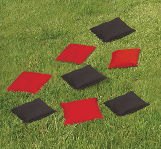 Set of 8 Bean Bag Toss Game Bags