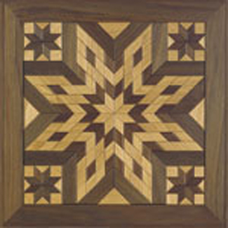 All Other - Wooden Quilt Square #1 Woodcraft Pattern