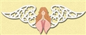 Rustic Angel Woodcraft Pattern